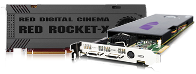 AVID Pro Tools HDX and RED ROCKET-X PCIe Cards