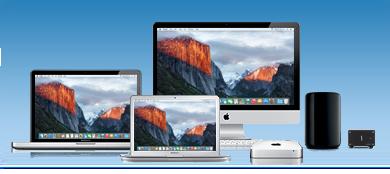 Echo expreso SE 10GbE Conectado a Macs