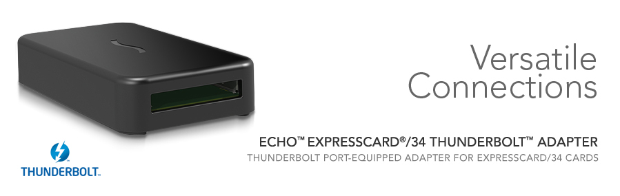 add sata2 firewire or gig ethernet to your new macbook air with sonnet thunderbolt expresscard. Black Bedroom Furniture Sets. Home Design Ideas