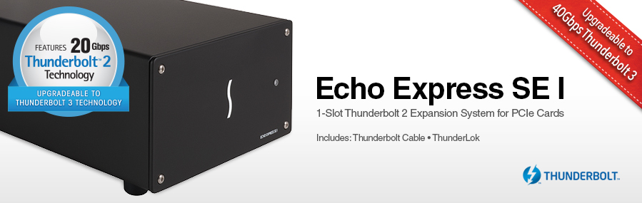 Echo Express SE II: Thunderbolt 2 Expansion Chassis for PCIe Cards