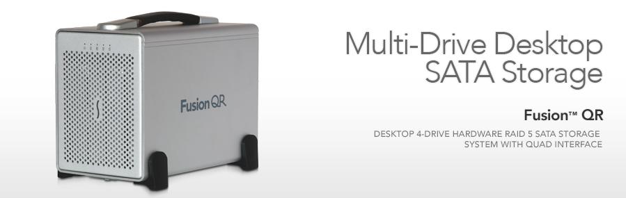 Fusion QR - Multi-Drive Desktop SATA-opslag