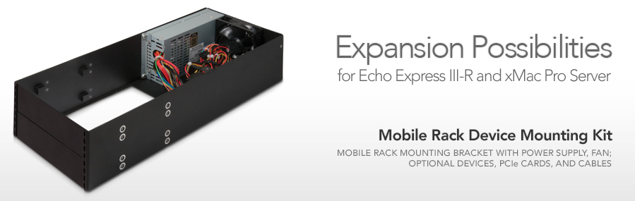 Echo Express III - 3-Slot Thunderbolt Expansion Chassis for PCIe Cards