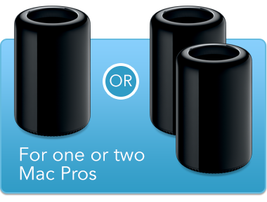 1 or 2 Mac Pros