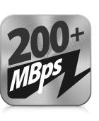 200+ MBps