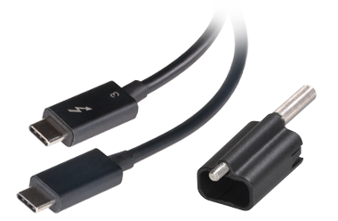 Thunderbolt 3 Cable and ThunderLok 3