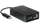 USB 3.0+Gigabit Ethernet Thunderbolt Adapter