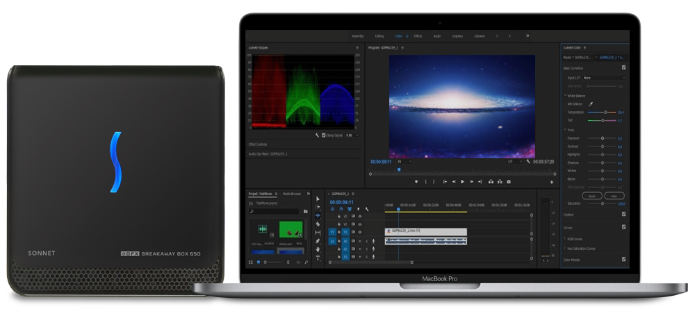 MacBook Pro with eGFX Breakaway Box