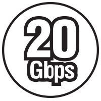 20Gbps Icon