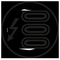 Three Thunderbolt 4 Ports Icon