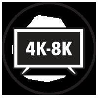 4K-8K Displays Icon