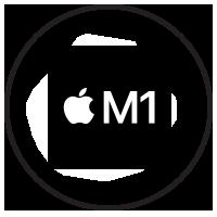 Apple M1 Icon