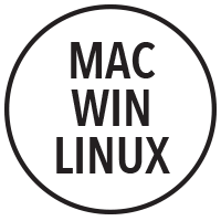 Mac, Windows & Linux Icon