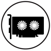 Supports Non-GPU Cards Icon