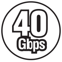 40Gbps Icon