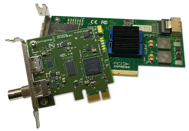Low-profile PCIe Cards