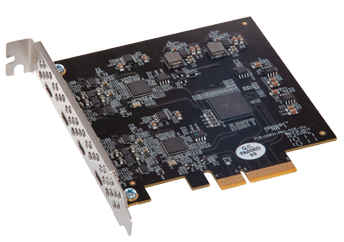 Allegro USB-C 4-Port PCIe Card