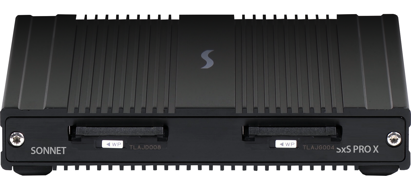 SF3 Series - SxS PRO X Card Reader Front View