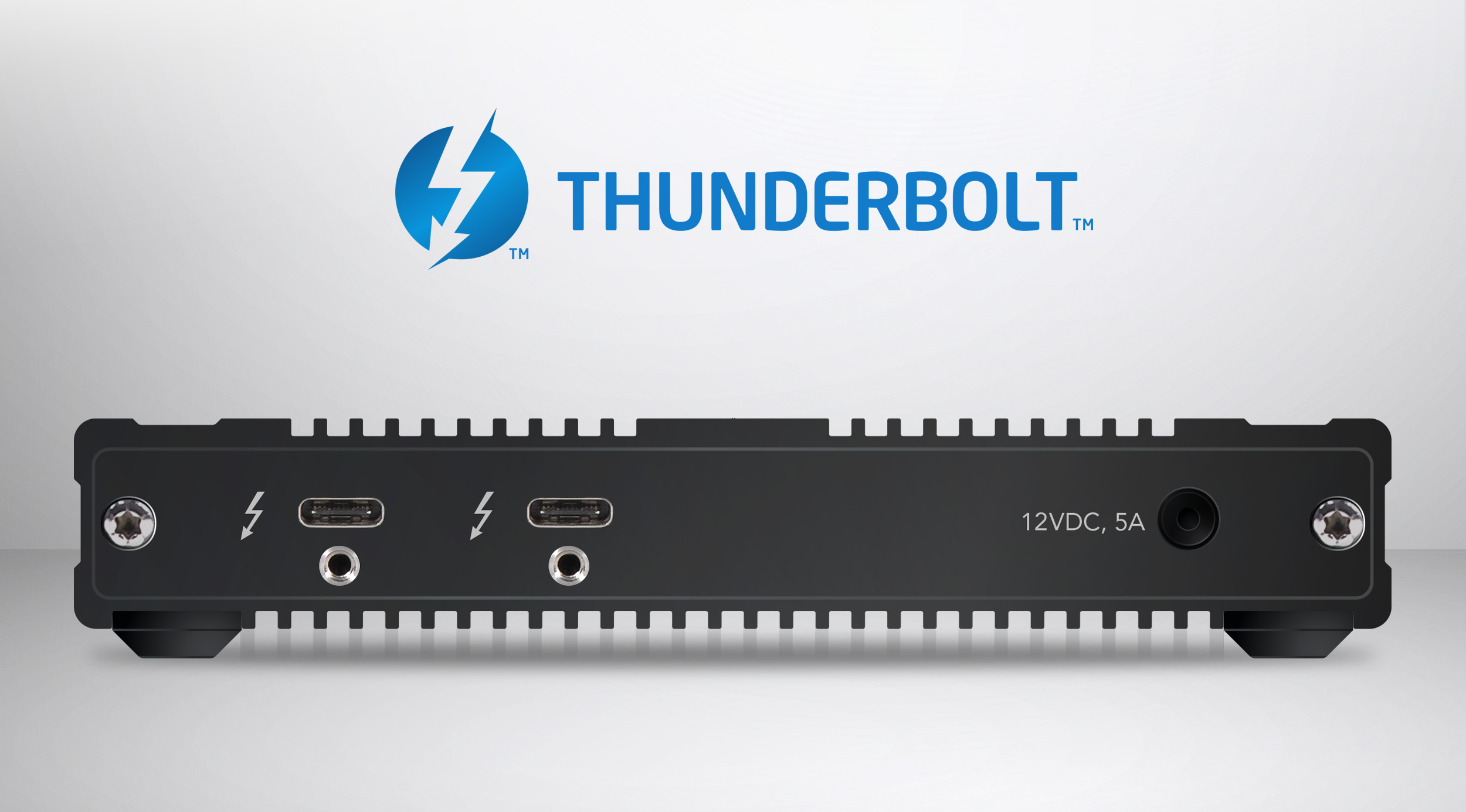 SF3 Series - SxS PRO X Card Reader Thunderbolt 3 Ports
