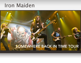 Iron Maiden Somewhere Back In Time Tour - Sonnet Case Study