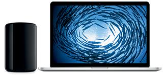 Mac Pro en MacBook Pro