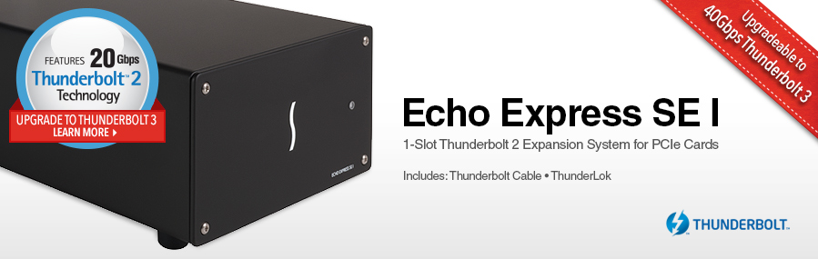 Echo Express SE I Thunderbolt 2-to-PCIe Card Expansion System | Sonnet