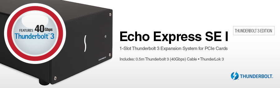 Echo Express SEL - Thunderbolt 3 Edition: Thunderbolt 3 Expansion System voor PCIe kaarten