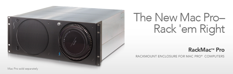 RackMac Pro: Rackmount Enclosure for Mac Pro computers