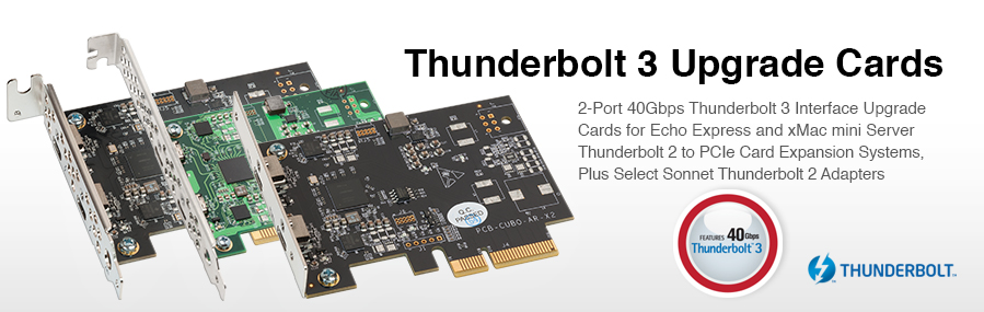 Thunderbolt 3 Upgrade Cards | Sonnet