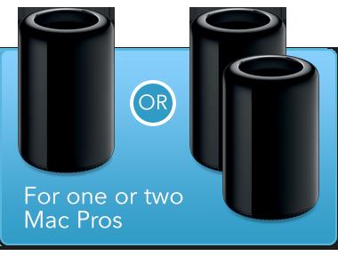 1 of 2 Mac Pro