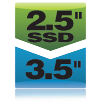 "2.5"" SSD to 3.5"" Drive Bracket Icon"