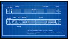 XMAC mini Server Mechanical Drawing
